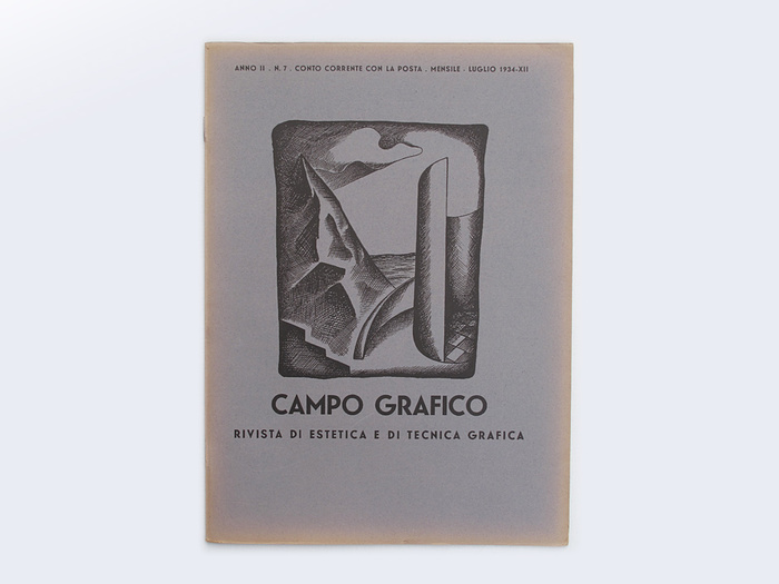 No. 6, June 1934. Designed by Luigi Veronesi.
