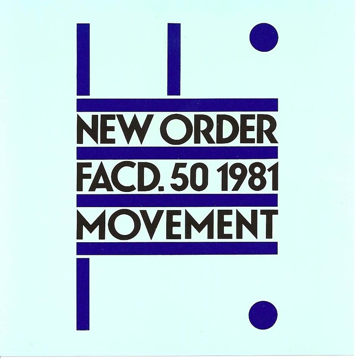 New Order – Movement album art 6