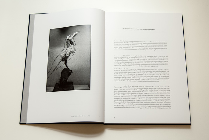 Noch ein Leben, exhibition catalogue of photographer Ludwig Rauch 6