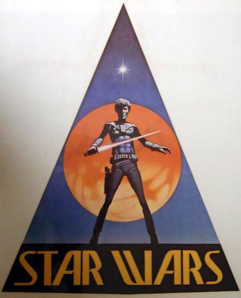 Star Wars logo, prerelease version 5