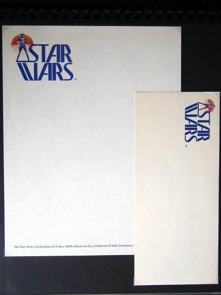 Star Wars logo, prerelease version 6