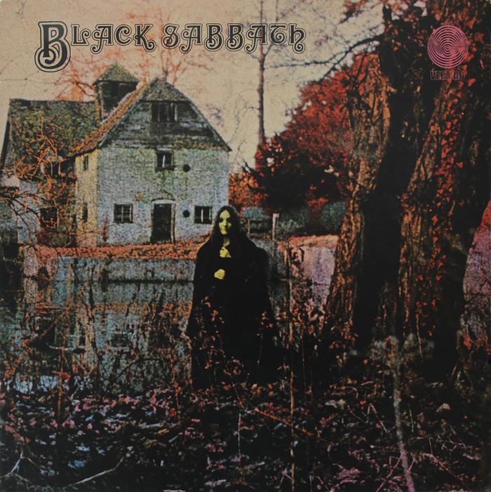 Black Sabbath – Black Sabbath album art