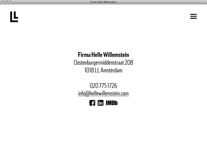 Helle Willemstein website 5