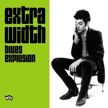 The Jon Spencer Blues Explosion – <cite>Extra Width </cite>album art