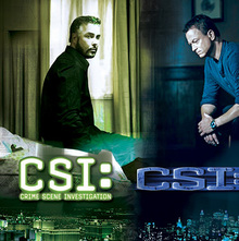 <cite>CSI</cite> television series
