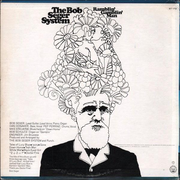 The Bob Seger System – Ramblin' Gamblin' Man album art 2