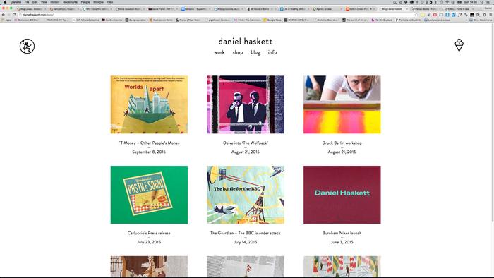 Daniel Haskett portfolio website 5