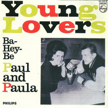 "Paul and Paula – ""Hey Paula"" and ""Young Lovers"" German single covers"