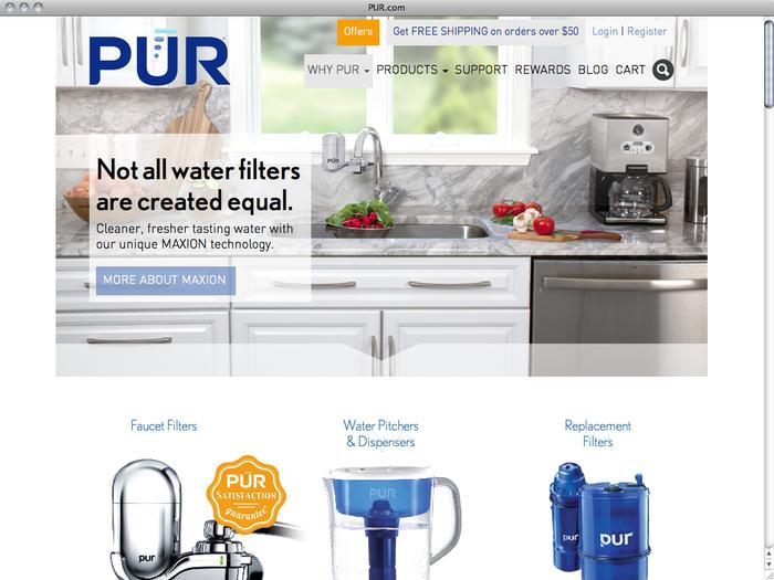 PUR website 1