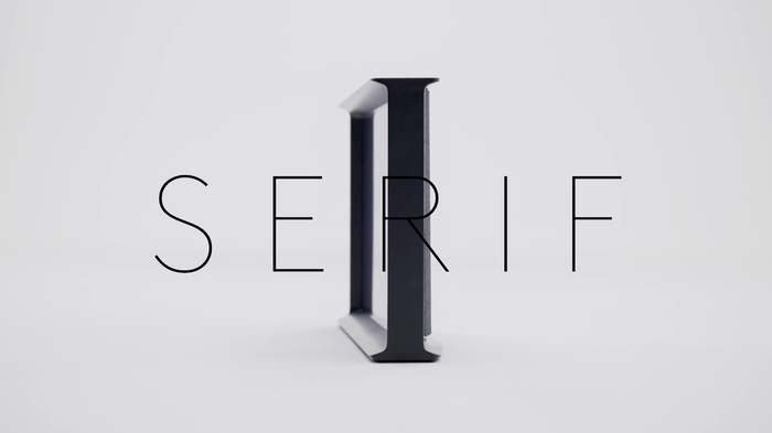 Samsung Serif prerelease video 1