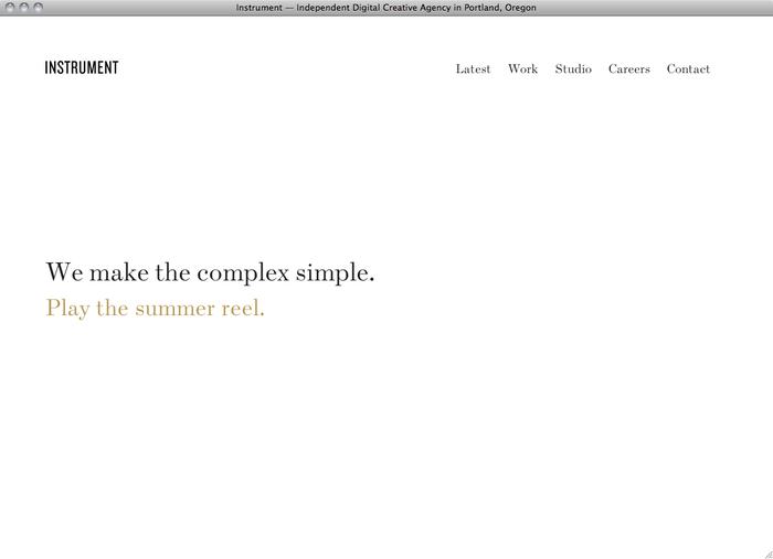 Instrument website 1