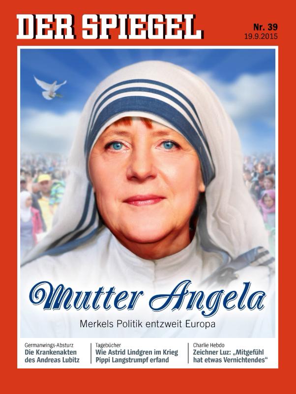 """Der Spiegel Nr. 39, 2015 """"Mutter Angela"""""""