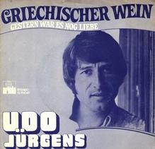 <cite>Griechischer Wein</cite> by Udo Jürgens