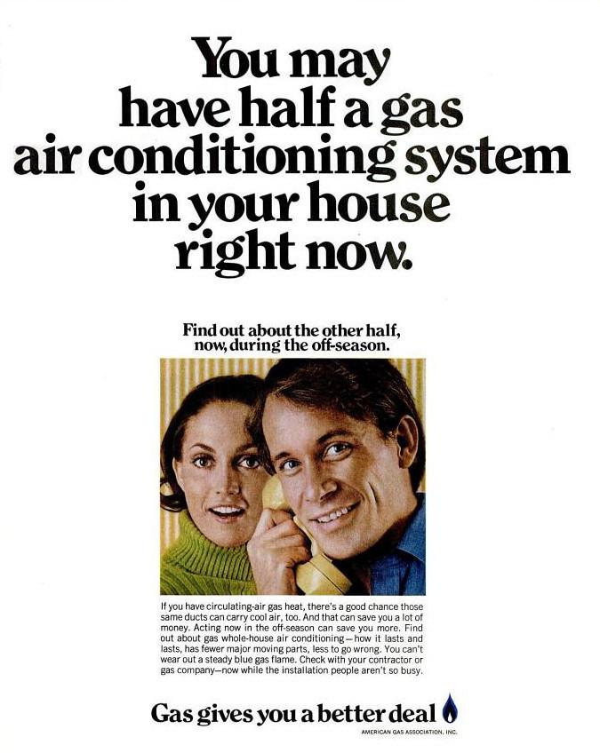 American Gas Association Advert