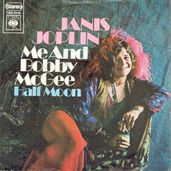 Me And Bobby McGee / Half Moon by Janis Joplin (NL release) 2