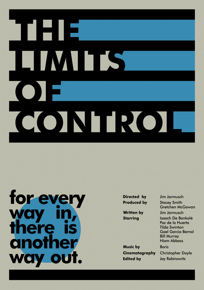 The Limits Of Control poster concept