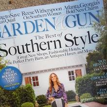 <cite>Garden & Gun</cite> magazine