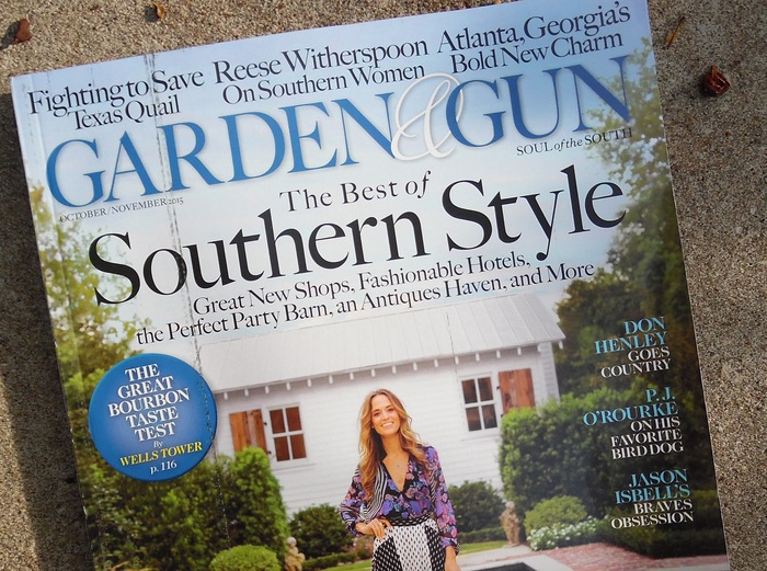 Garden \u0026 Gun magazine , Fonts In Use