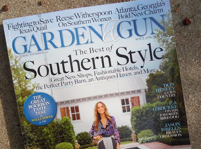 Garden & Gun magazine 1