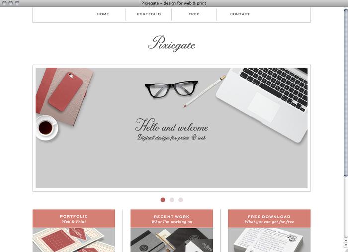 Pixiegate website 1
