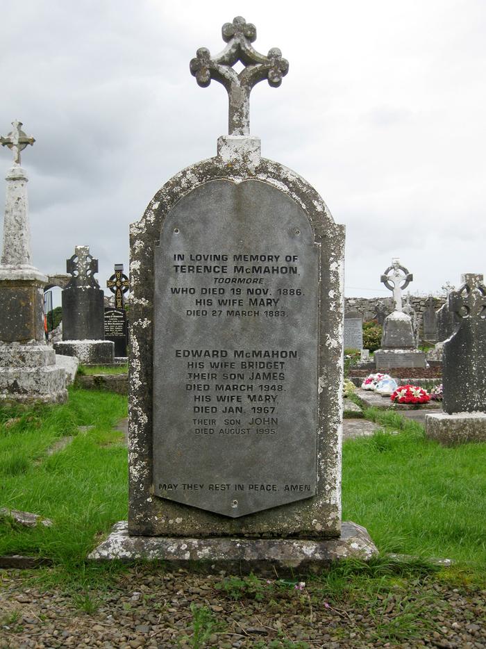 McMahon gravestone, Kilfenora