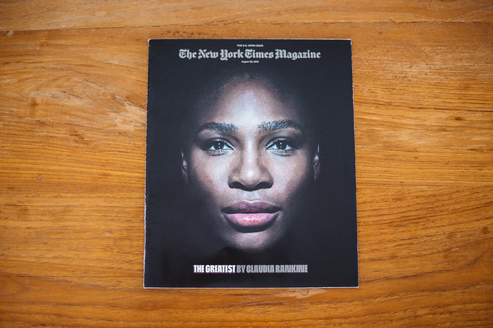 The New York Times Magazine, Aug 30, 2015, TheU.S. Open Issue 2