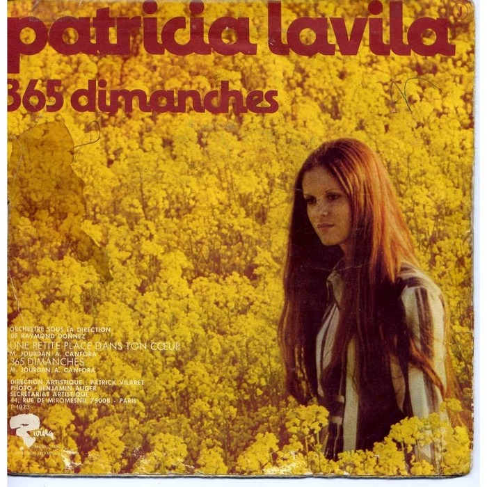 """""""Une Petite Place Dans Ton Cœur"""" / """"365 Dimanches"""" – Patricia Lavila 3"""