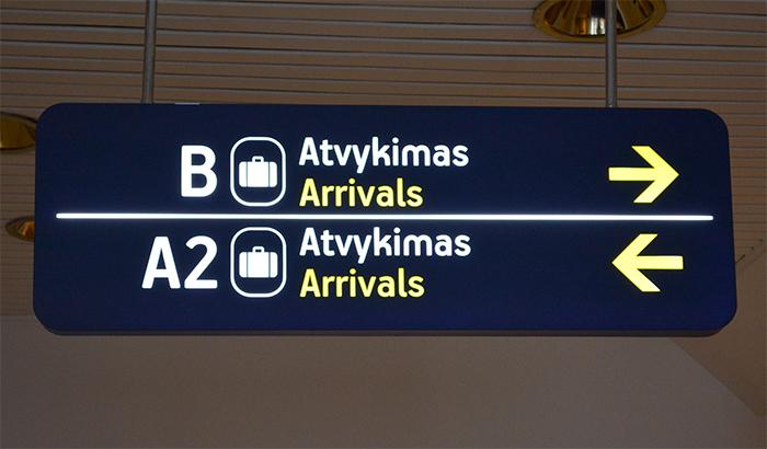 Vilniaus oro uostas (Vilnius International Airport) 1