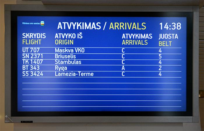 Vilniaus oro uostas (Vilnius International Airport) 4