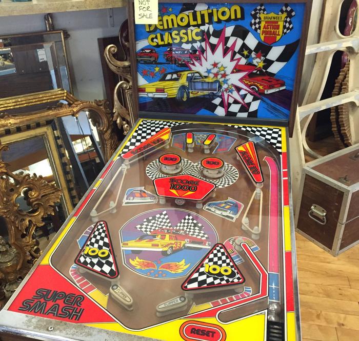 Demolition Classic pinball machine 3