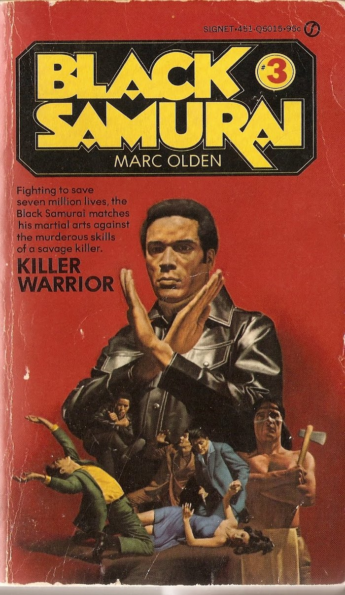 Black Samurai book series and movie 1