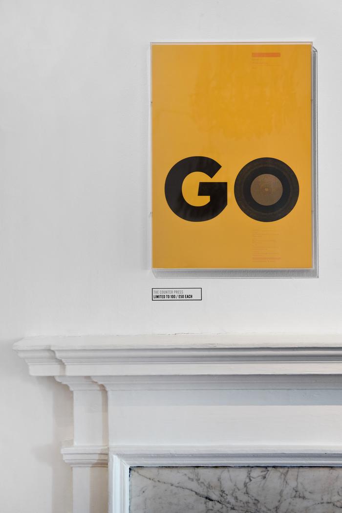 Secret 7″ poster: Go 7