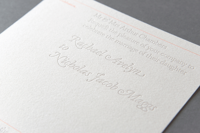 Avelyn & Maggs wedding invitation 1
