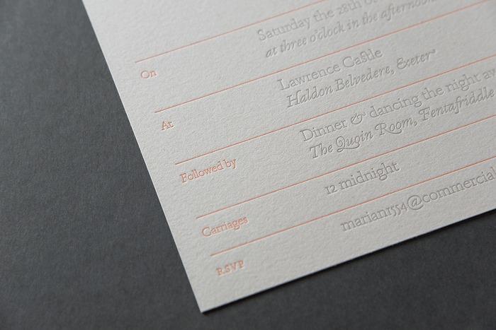 Avelyn & Maggs wedding invitation 2