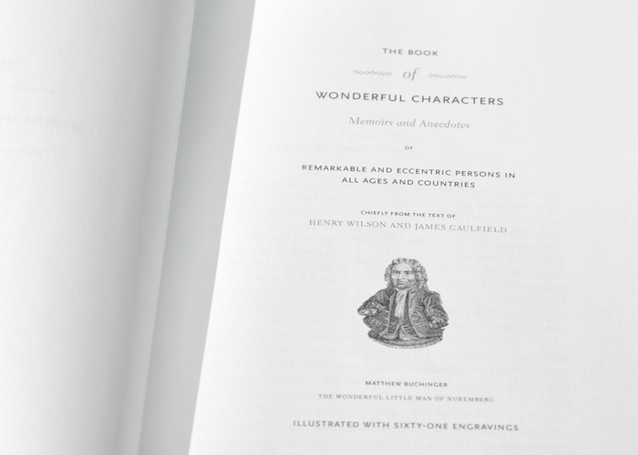 The Book of Wonderful Characters, Second Edition 3