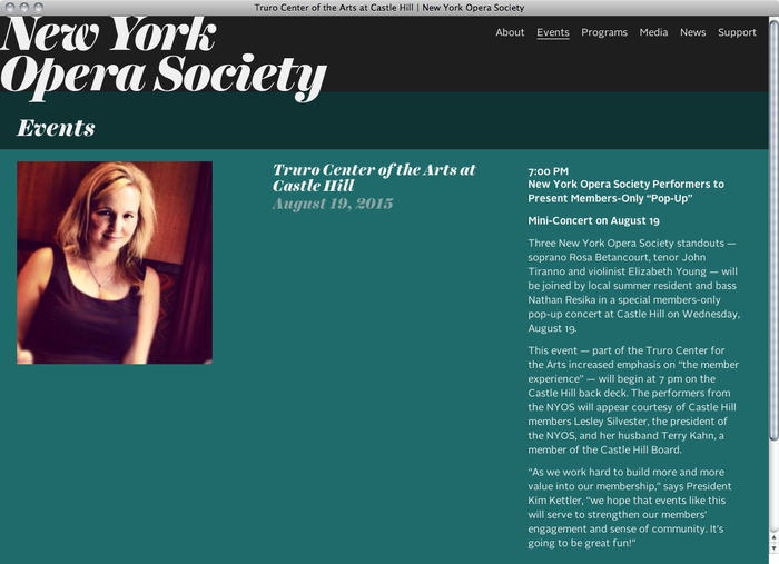 New York Opera Society website 3