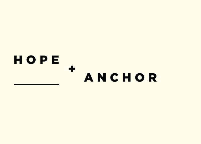 Hope & Anchor branding