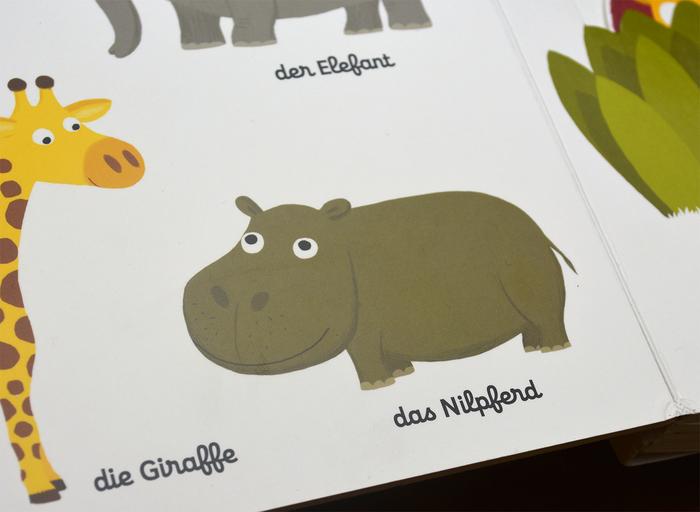 Mein erstes Buch von den Tieren by Nathalie Choux, arsEdition 3