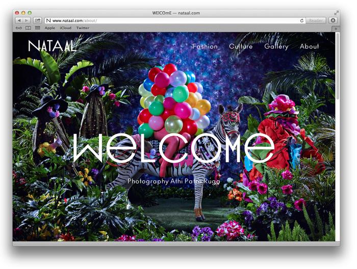 Nataal website 1