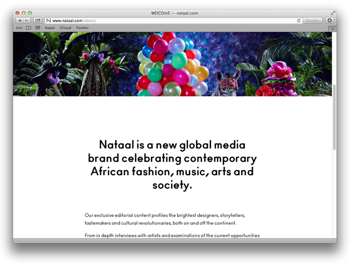Nataal website 2