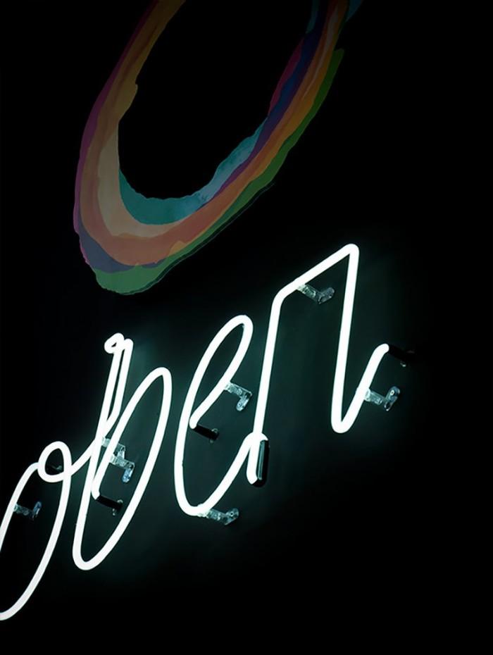Oben Restaurant identity 1