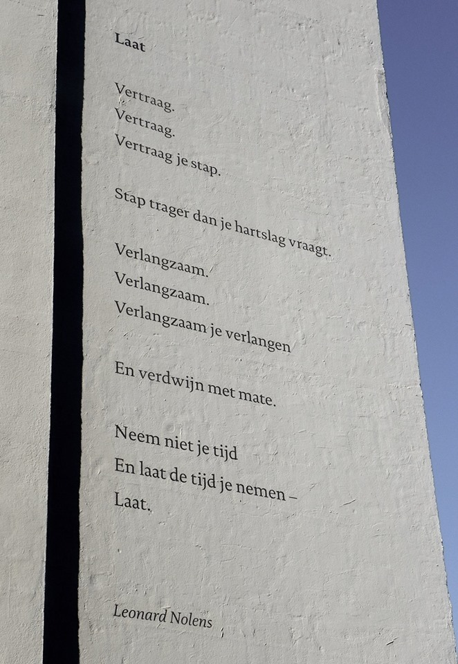 ArchipelpoëZie (poetry wall) 2