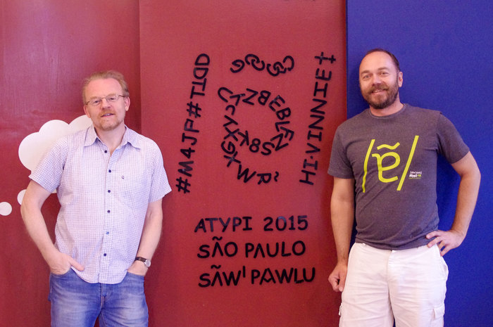 Comic Sans at Caixa de Letras, ATypI 2015 São Paulo