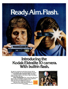 Kodak Ektralite camera ads, 1978–1981
