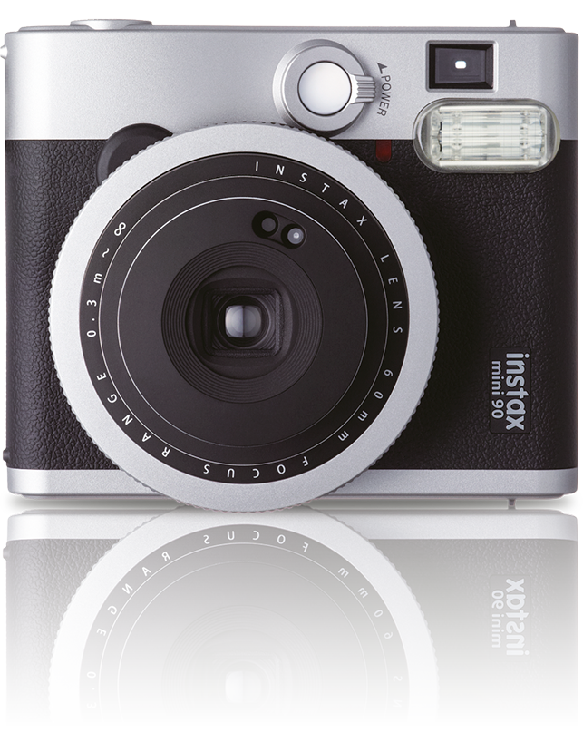 The high-end Instax Mini 90 (2013) is the latest addition to the Mini range.