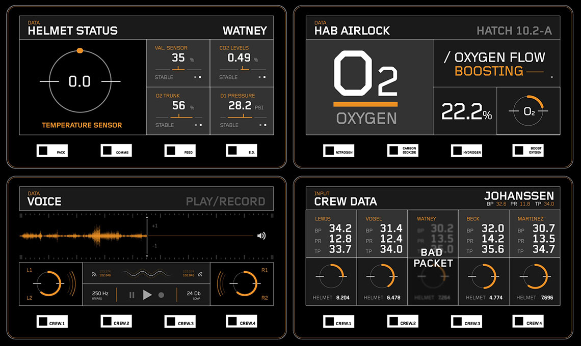The Martian Ui Graphics Fonts In Use