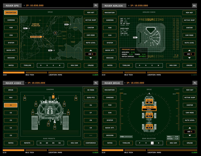 The Martian UI graphics 6