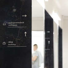 Wayfinding and visual identity system of the Wilanów Palace Museum