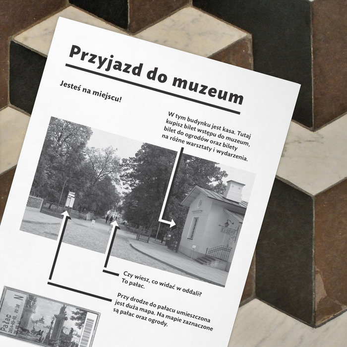 Guidebook for people with autism – Museum in Wilanów 4