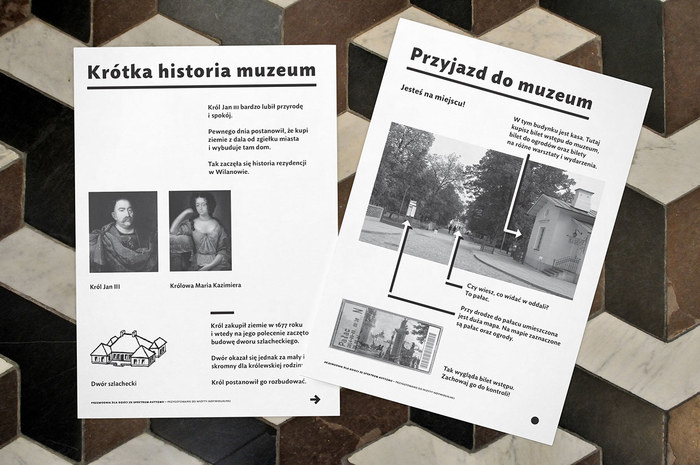 Guidebook for people with autism – Museum in Wilanów 1